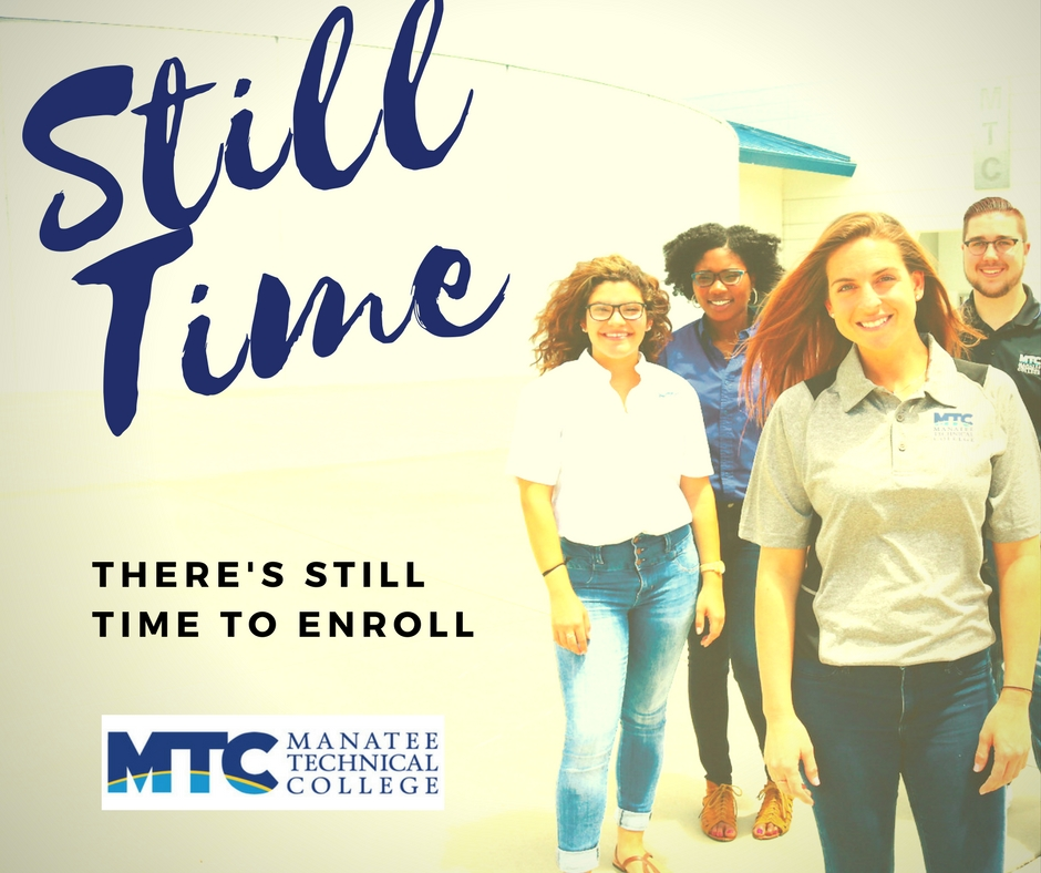 Still time to enroll in select programs at MTC