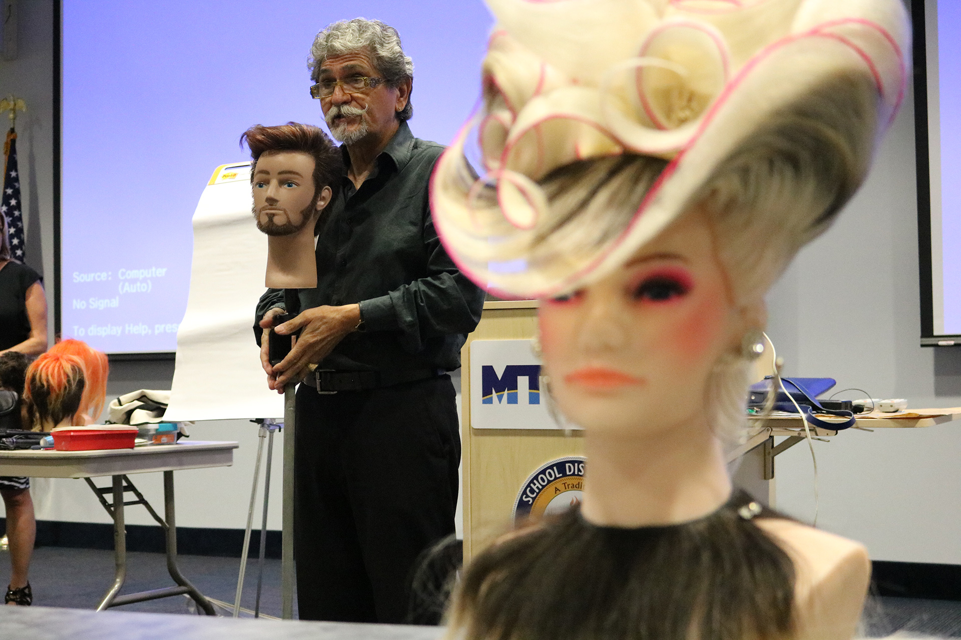 Renowned stylist inspires students