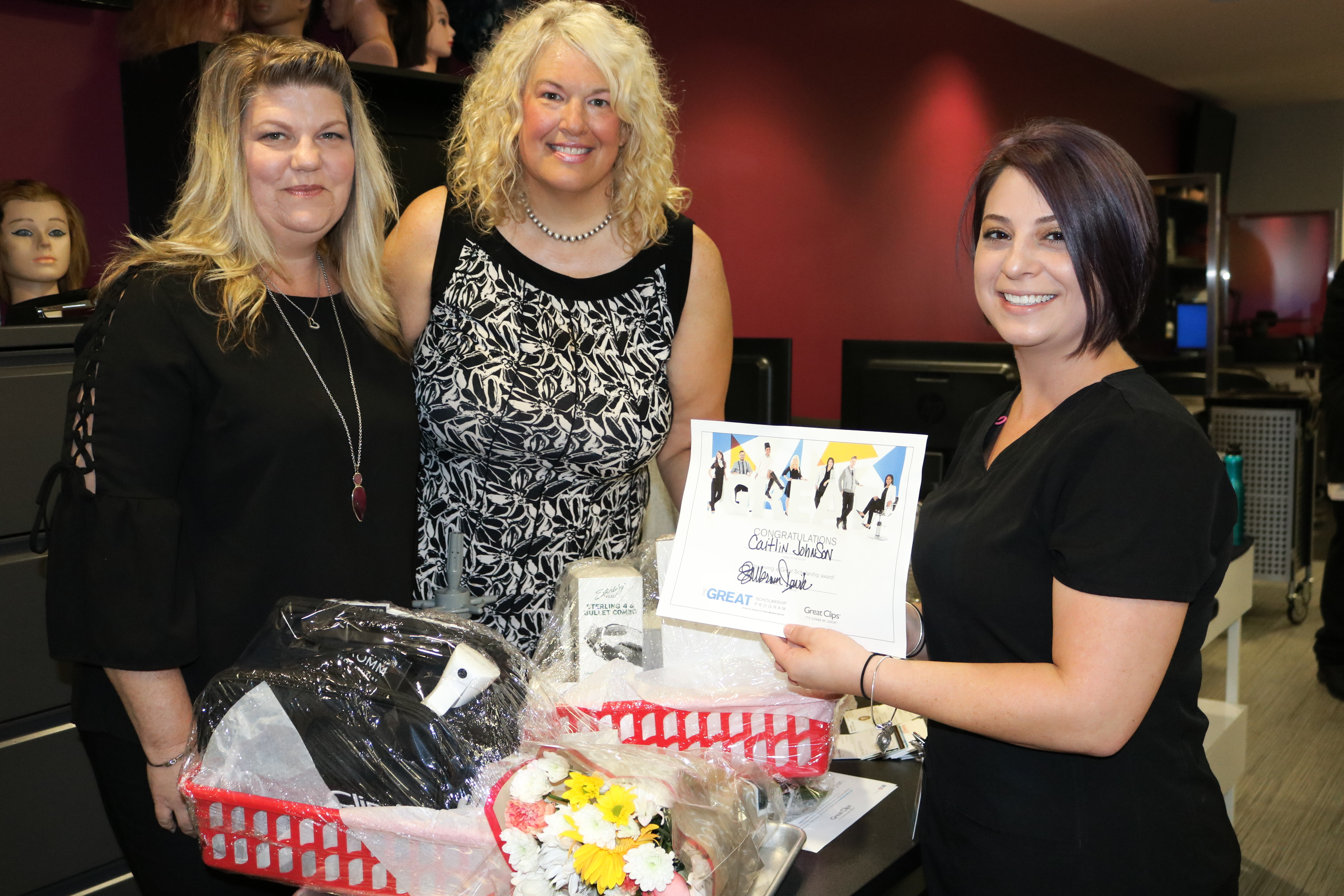 MTC student wins scholarship from Great Clips