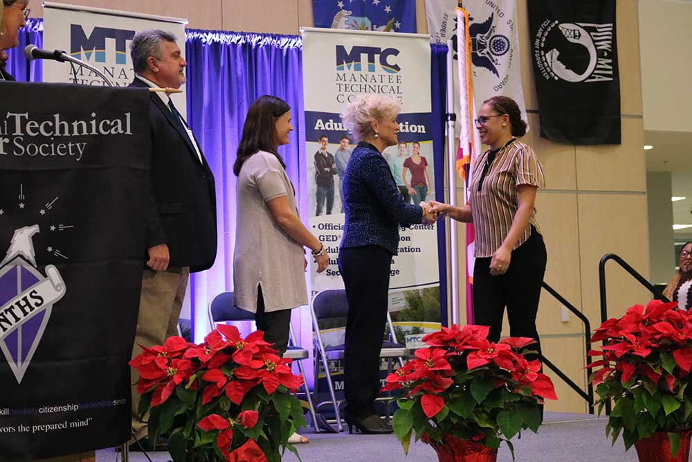 54 MTC students inducted into National Technical Honor Society