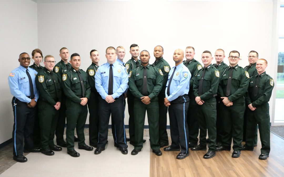 FW: Law Enforcement Academy graduates 18, honors 4